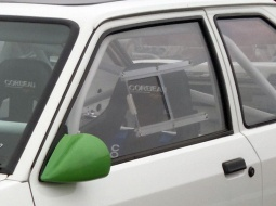 Ford Escort Mk3/4 3dr - Polycarbonate Front Door Windows (pair)