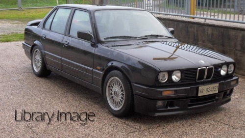 BMW E30 3 Series 4dr Saloon - Polycarbonate Rear Windscreen
