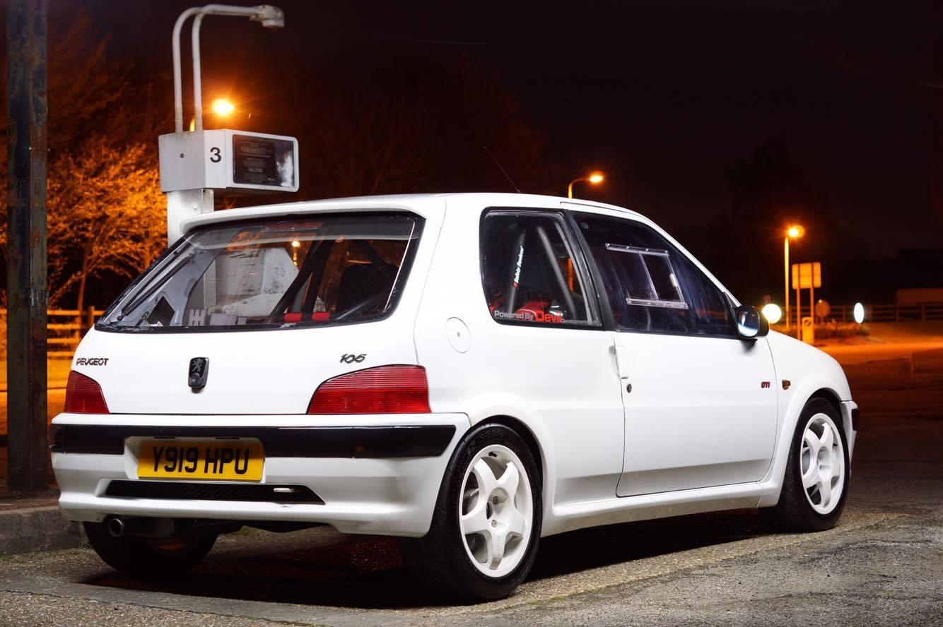 Peugeot 106 Mk2 3dr - Polycarbonate Rear Windscreen - ACW Motorsport ...