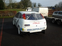 Ford Focus Mk1 - Polycarbonate Rear Windscreen