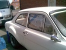 Ford Escort Mk1 2dr - Polycarbonate Front Door Windows (pair)