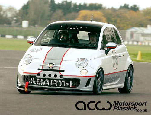 Abarth 500 / 595 / 695 - Polycarbonate Front Door Windows (pair)