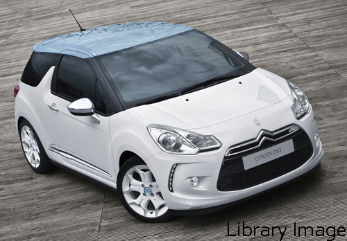 Citroen DS3 3dr - Thermoformed Polycarbonate Rear Windscreen