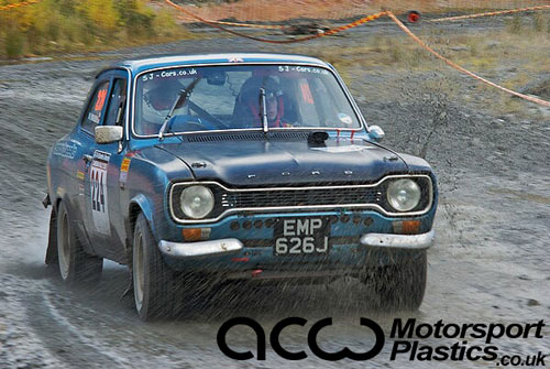Ford Escort Mk1 2dr - Polycarbonate Rear Windscreen