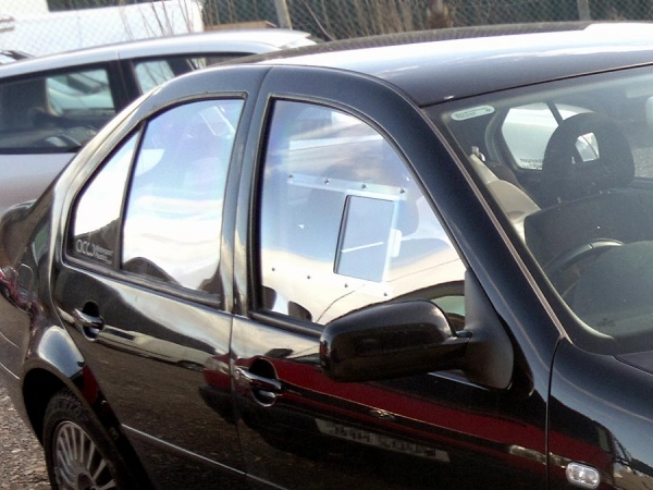 Volkswagen Bora 4dr - Polycarbonate Rear Door Windows (pair)