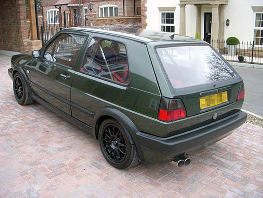 Volkswagen Golf Mk2 3dr - Polycarbonate Rear Quarter Windows (pair)