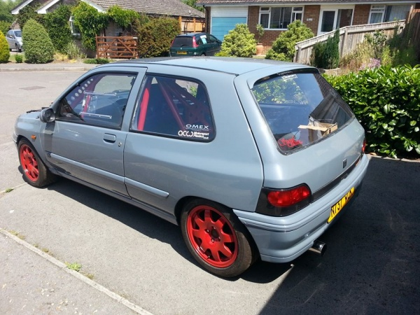 Renault Clio Mk1 3dr - Full Makrolon Polycarbonate Window Kit