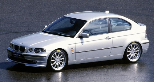 BMW E46 Compact - Polycarbonate Rear Windscreen