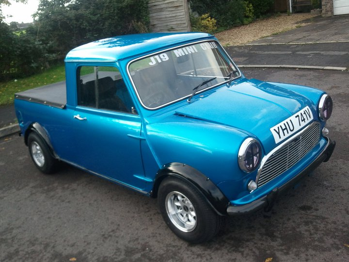 Mini Classic Pickup Polycarbonate Rear Windscreen Acw Motorsport