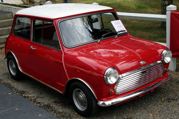Mini Classic Mk2 - Polycarbonate Rear Windscreen