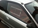 Honda Civic EK 3dr - Polycarbonate Front Door Windows (pair)