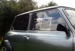 Mini Classic Mk3 onwards - Polycarbonate Front Door Windows (pair)