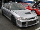 Mitsubishi Evolution 4, 5, 6 - Thermoformed Polycarbonate Rear Windscreen